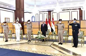 أبرز ما جاء في لقاء الرئيس السيسي مع كبار قادة القوات المسلحة