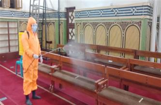 الهلال الأحمر المصري يقوم بأكبر عملية تعقيم للمساجد في 10 محافظات| صور