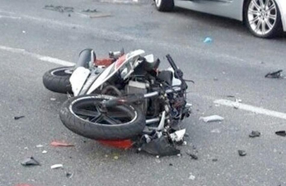 مصرع عامل وإصابة نجله في حادث انقلاب دراجة نارية بسوهاج