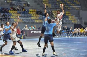 الزمالك إلى نهائي كأس مصر لكرة اليد بعد هزيمة هليوبليس