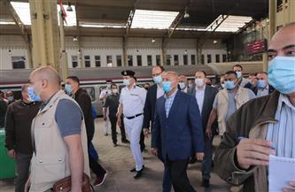 وزير النقل يجتمع برئيس وقيادات السكة الحديد لمتابعة الإجراءات العاجلة لتنفيذ خطة التطوير الشاملة
