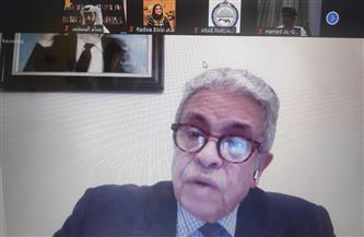 """مركز الدبلوماسية البرلمانية العربية ينظم محاضرة حول """"البيئة الإقليمية والدولية للنظام العربي"""""""