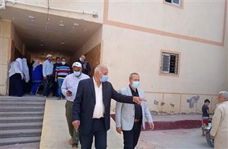 وكيل وزارة الصحة بالدقهلية يتفقد مستشفى الجمالية المركزي | صور