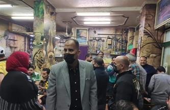 استمرار الحملات المكبرة لإزالة الإشغالات والتعديات بأحياء ببورسعيد   صور