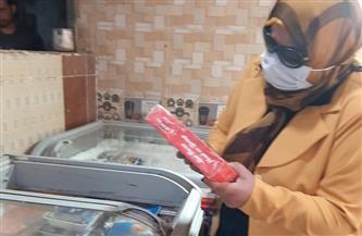 ضبط 102 كيلو لحوم غير صالحة للاستهلاك الآدمي خلال حملة تموينية بالمنوفية | صور