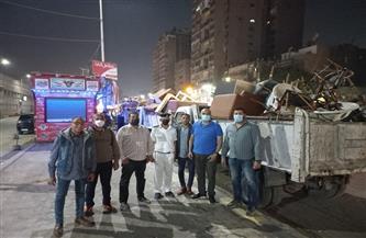 مصادرة 116 شيشة وتحرير 18 محضرا في حملة ليلية بالدقي | صور