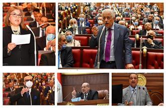 """""""عيون الكاميرا"""" ترصد 7 صور من داخل مجلس الشيوخ حول رفض النظام الجديد للثانوية العامة"""