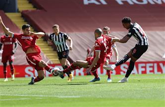 صلاح يسجل وليفربول يفشل مجددا في الفوز أمام نيوكاسل بالدوري الإنجليزي