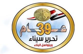 المتحدث العسكري ينشر لوجو الاحتفال بالذكرى الـ39 لتحرير سيناء