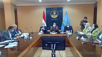 محافظ كفر الشيخ يستعرض خطة إنشاء 18 حديقة عامة