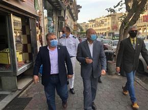 نائب محافظ القاهرة يقود حملة لإزالة الإشغالات وضبط الشوارع في مصر الجديدة
