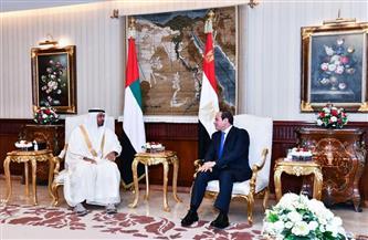 الرئيس السيسي يؤكد التقدير والمودة التي تكنها مصر قيادةً وشعبًا لدولة الإمارات