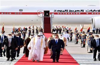 الرئيس السيسي يؤكد حرص مصر على الاستمرار في تعزيز التعاون الثنائي مع الإمارات في مختلف المجالات