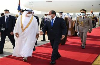 الرئيس السيسي يشدد على التزام مصر بموقفها الثابت تجاه أمن الخليج ورفض أية ممارسات تسعى إلى زعزعة استقراره