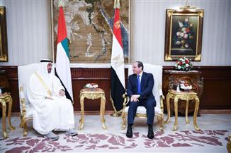 ولي عهد أبو ظبي يشيد بدور مصر المحوري والراسخ كركيزة أساسية للأمن والاستقرار في المنطقة