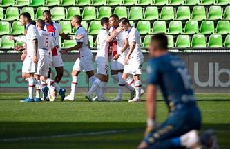سان جيرمان يهزم ميتز ويقتنص صدارة الدوري الفرنسي