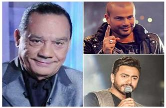 حلمي بكر:عمرو دياب مش مطرب.. وتامر حسني مختلف عن عبدالحليم حافظ