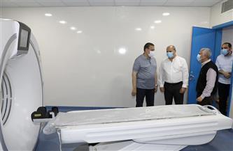 محافظ المنوفية يتفقد مستشفى شبين الكوم التعليمي| صور