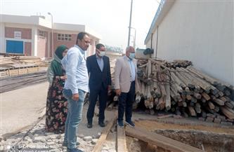 رئيس شركة مياه المنوفية يتفقد محطة معالجة دناصور بالشهداء | صور
