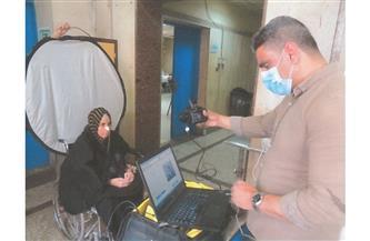قطاع الأحوال المدنية يواصل توجيه المأموريات لاستخراج بطاقات الرقم القومى| صور