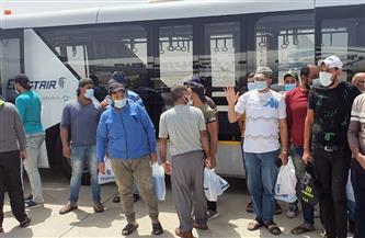 مطار القاهرة يستقبل 95 صيادا مصريا بعد الإفراج عنهم من إريتريا   صور
