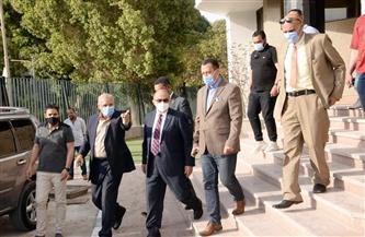 رئيس جامعة أسيوط يزور القرية الأولمبية ويتابع تنفيذ الخطة الشاملة لتعظيم منافعها|صور