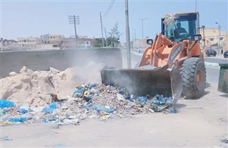 مدينة مرسى مطروح: رفع 55 ألف طن قمامة من ستة أحياء خلال 4 أشهر | صور
