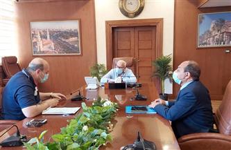 محافظ بورسعيد يتابع سير العمل بديوان عام مدينة بورفؤاد والمنطقة الصناعية  صور