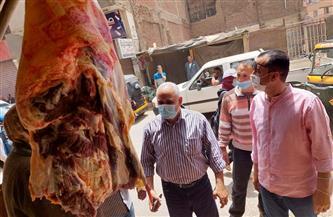 تحرير 21 محضر مخالفات وإعدام 200 كيلو منتجات عطارة بالباجور بالمنوفية | صور