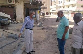 رفع مخلفات الإزالات من منطقة مسجد الدهار الكبير بالغردقة  صور