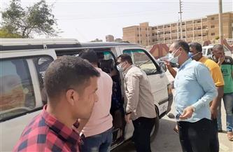 ضبط 431 مخالفة لعدم ارتداء كمامة وغلق 55 مقهى وكافتيريا في سوهاج| صور