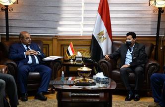 وزير الرياضة ورئيس الأولمبية يبحثان استعدادات مشاركة مصر في أولمبياد لطوكيو
