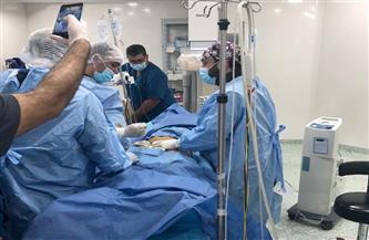 مستشفى الشيخ زايد التخصصي يجرى جراحة نادرة لمريض يعاني أزمة معقدة بشرايين الصدر| صور