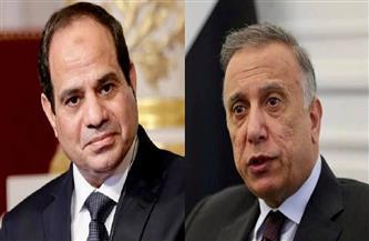 الرئيس السيسي يعزي رئيس الوزراء العراقي في ضحايا حريق مستشفى ابن الخطيب