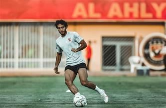 محمد هاني يشارك في مران الأهلي