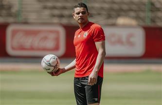 سعد سمير يجري تدريبات بدنية واستشفائية في «الجيم»