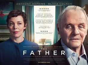 """فوز فيلم """"الأب"""" بجائزة الأوسكار كأفضل سيناريو مأخوذ عن عمل أدبي"""