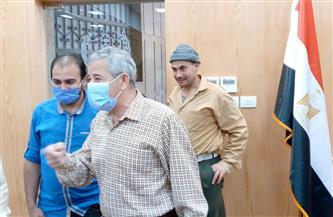 سكرتير عام بورسعيد يتابع سير العمل في مركز الخدمات والطوارئ استعدادا لافتتاحه | صور