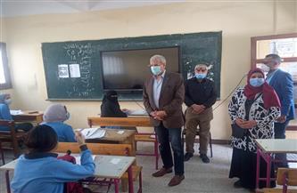 وكيل وزارة التربية والتعليم بالإسماعيلية يشدد على الإجراءات الاحترازية خلال الامتحانات | صور