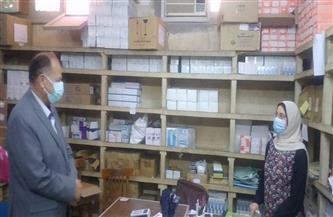 محافظ أسيوط يتفقد مخزن الأدوية الرئيسي ومركز تدريب الصحة بحي شرق  صور