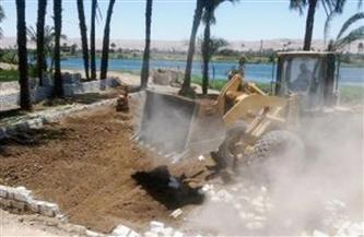 """""""الري"""": استرداد 570 ألفا و449 مترا مربعا خلال الموجة 17 لإزالة التعديات على نهر النيل"""