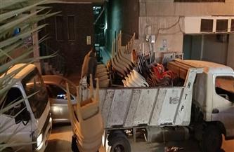 حي الأزبكية يشن حملة على الكافيهات