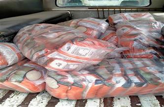ضبط ربع طن أرز تمويني قبل بيعه بالسوق السوداء في الأقصر