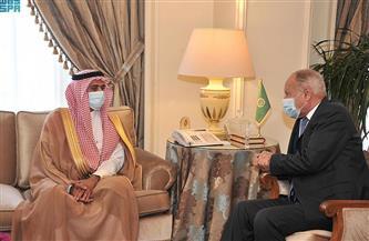 مندوب السعودية لدى الجامعة العربية يقدم أوراق اعتماده للأمين العام