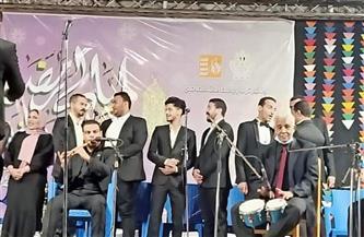 """""""ثقافة مطروح"""": تنظيم ليلة رمضانية على المسرح المكشوف بالنادي الاجتماعي بمناسبة عيد تحرير سيناء  صور"""
