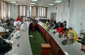 تجديد شهادات الأيزو لأنظمة (الجودة- البيئة-السلامة المهنية) لمياه الإسكندرية