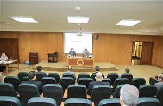 جامعة كفرالشيخ تشدد على تطبيق الإجراءات الاحترازية لمواجهة موجة «كورونا» الثالثة | صور