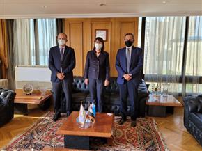 اتحاد الصناعات يستقبل السفيرة إيلينا بانوفا المنسق المقيم للأمم المتحدة في مصر
