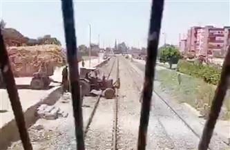 العناية الإلهية تنقذ قطار النوم من حادث في أسوان