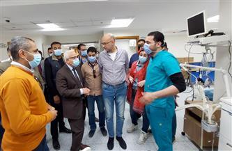 محافظ بورسعيد: بدء التشغيل التجريبي لمستشفى 30 يونيو | صور